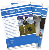 Animal Welfare Journal Covers